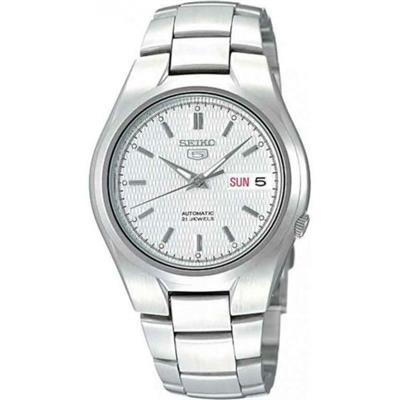 72155e42831898 Relógio Masculino Orient SNK601B1 S1SX Analógico Pulseira de Aço Prata