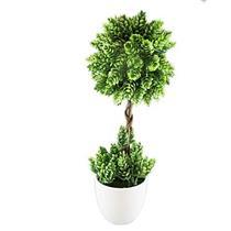 Planta Artificial Latcor BX-43270/Y20-01 Verde Vaso Branco