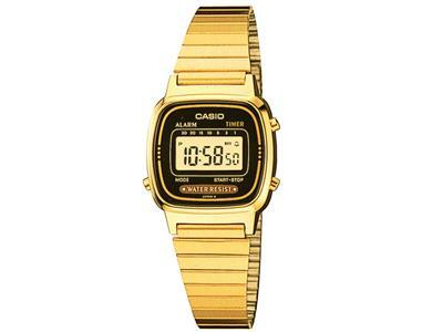 Relógio Feminino Casio LA670WGA1DFU Dourado