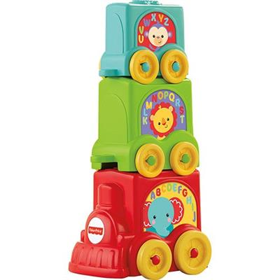 Brinquedo Trem Animais Mattel Fisher Price Y8653 Plástico