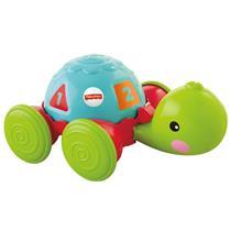 Brinquedo Tartaruga com Passear Fisher Price Mattel Y8652 Plástico