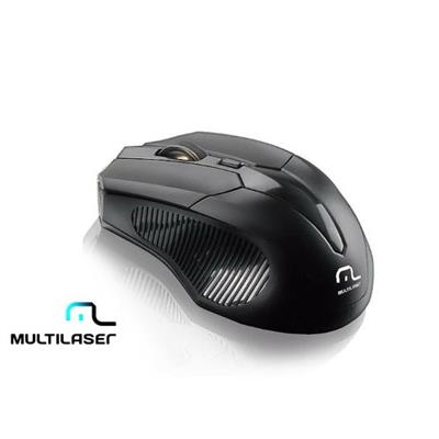 Mouse Multilaser Sem Fio MO221 Preto