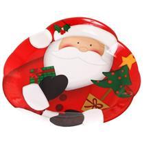 Prato de Natal Santini Christmas 045-172426 Colorido