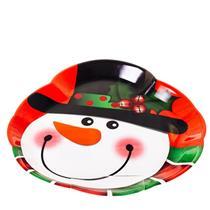 Prato de Natal Santini Christmas 045-172427 Colorido