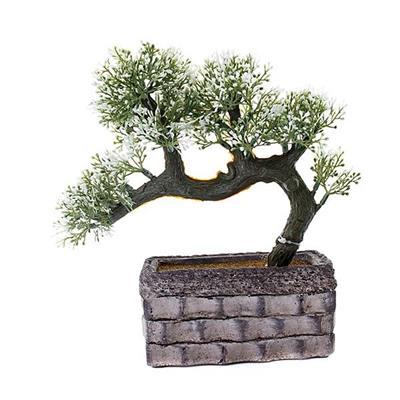 Planta Artificial Bonsai Latcor BX-47271/ST57 Plástico Cinza e Verde