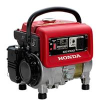 Gerador de Energia Honda EG1000LB 10000W 4 Tempos Gasolina 120V Vermelho