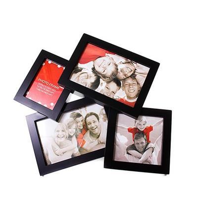 Porta-Retrato Latcor P20098B Plástico Preto