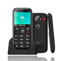 TELEFONE CELULAR POSITIVO P65 2CHIPS 32MB PRETO