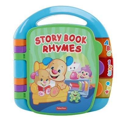 Brinquedo L&L Livro de Rimas Aprender e Brincar Fisher Price Mattel CDH62
