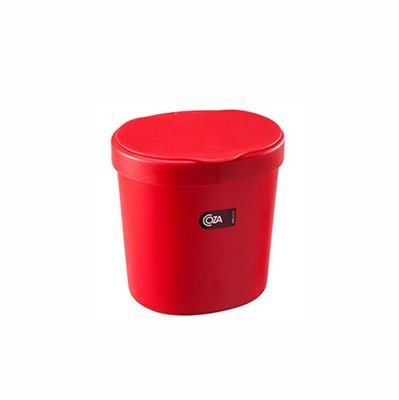 Lixeira Coza 10906/0053 2,5 Litros Plástico Vermelho