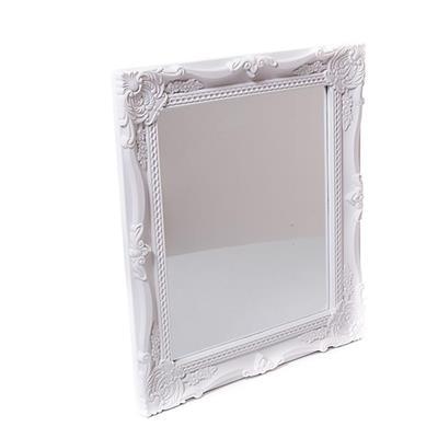 Espelho com Moldura de Plástico Latcor P00067M Branco