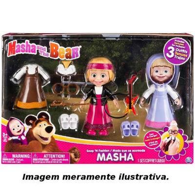8d38b662b4 Boneca Masha e o Urso 6 Sunny 1472 com Roupas e Acessórios - Boneca ...