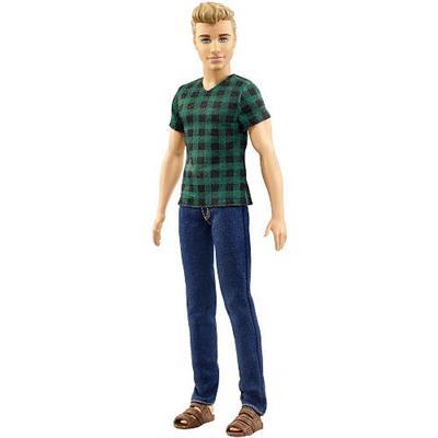 Boneco Barbie Ken Fashionistas Mattel DWK44 Cores e Modelos Variados