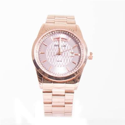 Relógio Analógico Feminino Seculus 28839LPSVRS2