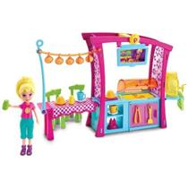 Conjunto Polly Pocket Churrasco Divertido Mattel DNB53