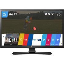 "Smart TV Monitor 28"" LED LG 28MT49S-OS Entradas 2 HDMI 1 USB Preto"