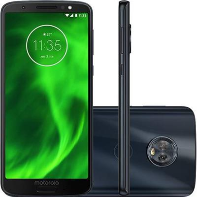 SMARTPHONE LIVRE MOTOROLA MOTO G6 PLUS XT1926 64GB 2CHIPS AZUL INDIGO