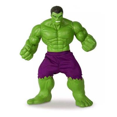 Boneco Hulk Verde Revolution Mimo 516 PVC 55cm