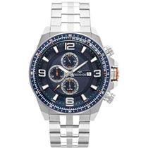 Relógio Masculino Technos JS15FD1A Analógico Pulseira de Aço Prata