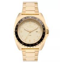 171e58ef6ce Relógio Masculino Technos 2115MOD 4D Analógico Pulseira de Aço Dourado