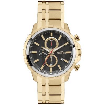 Relógio Masculino Technos JS15EY/4P Analógico Pulseira de Aço Dourado