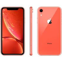 SMARTPHONE LIVRE APPLE IPHONE XR 4G 128GB, TELA 6.1, CÂMERA 12MP + 7MP FRONTAL, iOS 12, CORAL