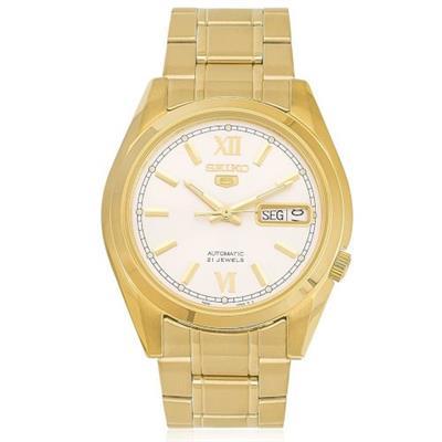 00e8146989235a Relógio Masculino Orient SNKL58B1 B3KX Analógico Pulseira de Aço Dourado