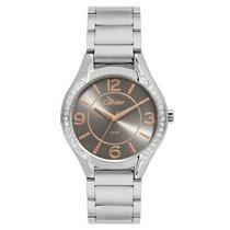64a40a18e8d Relógio Feminino Condor CO2035KRF K3C Analógico Pulseira de Aço Prata