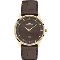 Relógio Feminino Technos GL20HJ2M Analógico Pulseira de Couro Preto 0d05ee06db