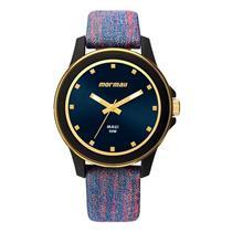 6e840154e50 Relógio Feminino Mormaii MO2035HZ 8A Analógico Pulseira de Neoprene Colorido