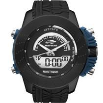 556369fa056 Relógio Masculino Mormaii MOVA002 8P Analógico e Digital Pulseira de  Borracha Preto