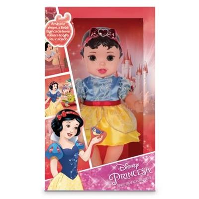 Boneca Baby Princesa Branca De Neve Mimo Vinil 6435 Boneca Baby