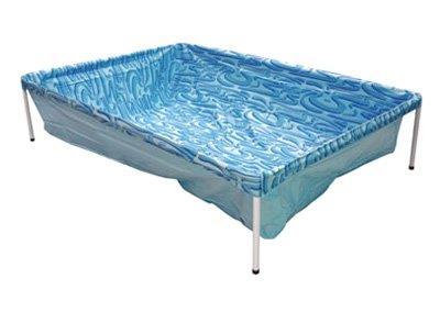 Piscina Mor 400 Litros Lona em PVC com Ilustração Azul