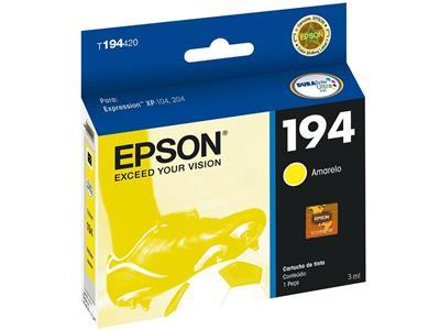 Cartucho para Impressora Epson T194220 Amarelo