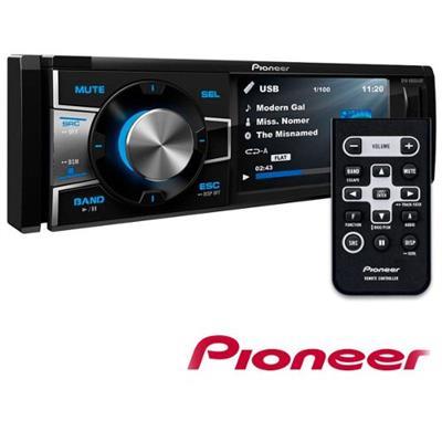 DVD PLAYER PIONEER DVH-8880AVBT COM CONTROLE REMOTO 12V PRETO
