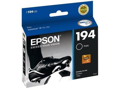 Cartucho para Impressora Epson T194120 Cor Preta