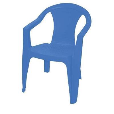 Cadeira Ilhabela Tramontina 92205/070 Plástico Azul