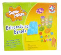 Brinquedo Super Massa Brincando na Escola Estrela 1001301400011 Colorido