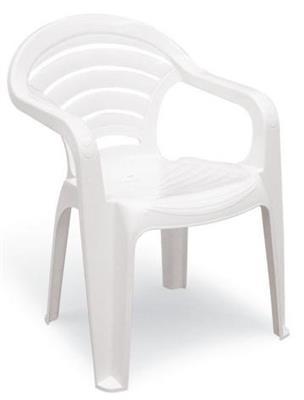 Cadeira de Plástico Tramontina Angra 92212/010 Branca