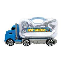 Brinquedo Caminhão de Ferramentas Hot Wheels Fun 75049/HW1391 Plástico 41cm