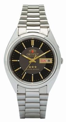 75d5bd68ed7ba3 Relógio Masculino Orient Automatic 469WA3/P1SX Analógico Pulseira de Aço