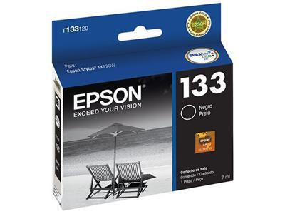 Cartucho para Impressora Epson T133120-BR Preto