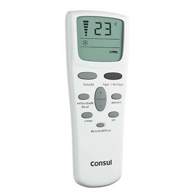 Ar-Condicionado de Janela Consul CCN07DBBNA 7.500 BTUs Controle Remoto Classe A 220 V Branco