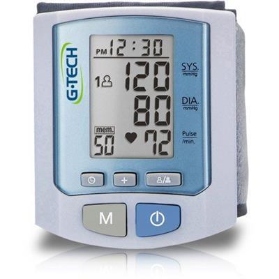 Medidor De Pressão G-Tech Digital Automático de Pulso RW450 Premium 13g 02 pilhas AAA