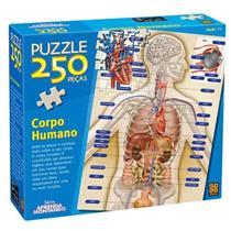 Quebra-cabeça Corpo Humano 250 Peças Grow 02443