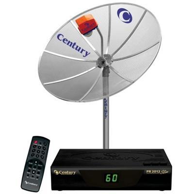 Kit Antenas Parabólica Century 170MT/101 PR2022 Antena 1,7 m LNBF