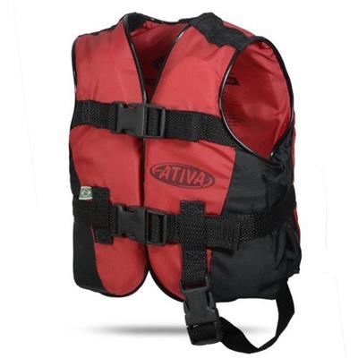 604e204b7 Colete Salva-Vidas Ativa Canoa Até 130kg Vermelho - Colete Salva ...