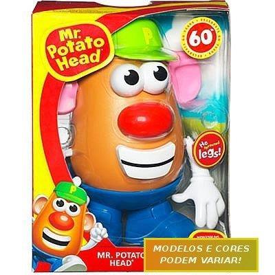 Brinquedo Mr & Ms Potato Head Hasbro 27656 Plástico