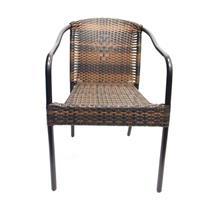Cadeira Latcor 8HFS-064-C Armação de Metal Marrom