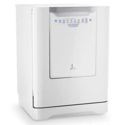 Lava-louças Electrolux LI14B Capacidade 14 Serviços Painel Blue Touch e 6 Programas de Lavagem 110V Branca